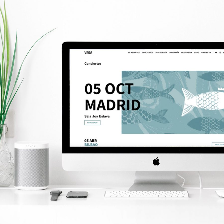 Diseño web Vega Oficial