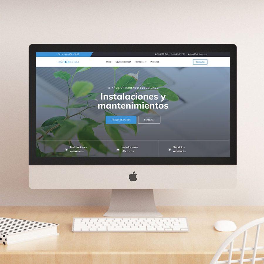 diseno web para empresas de mantenimiento