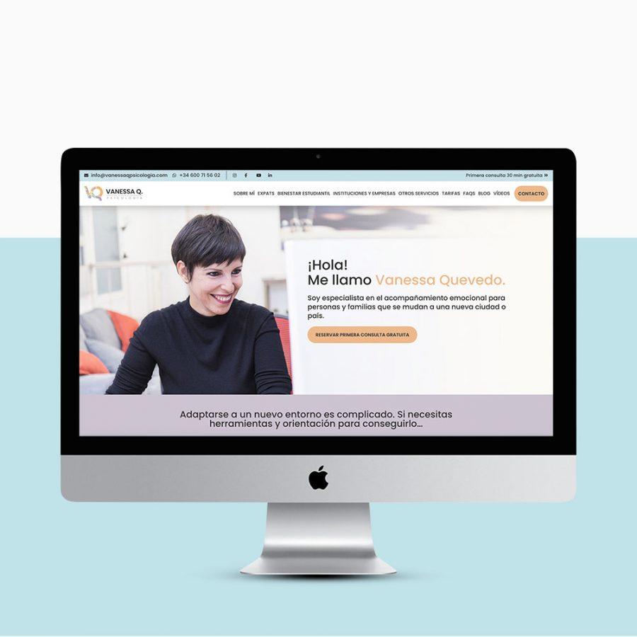 Diseño web para psicologas