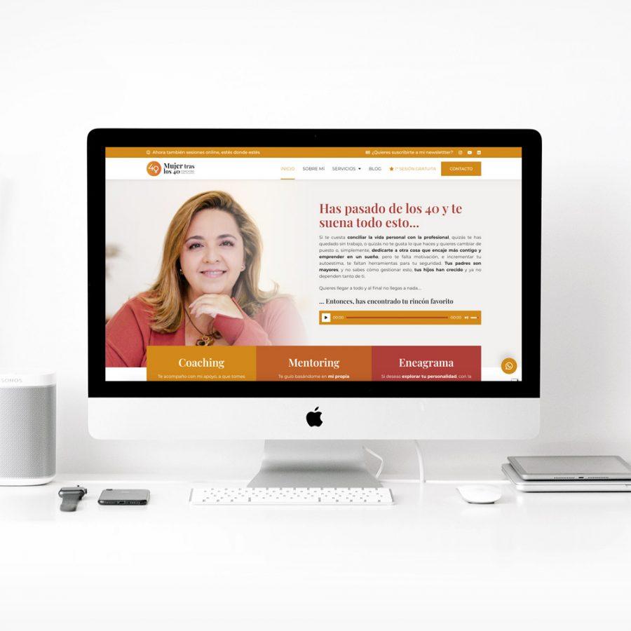 Diseño web coach personal